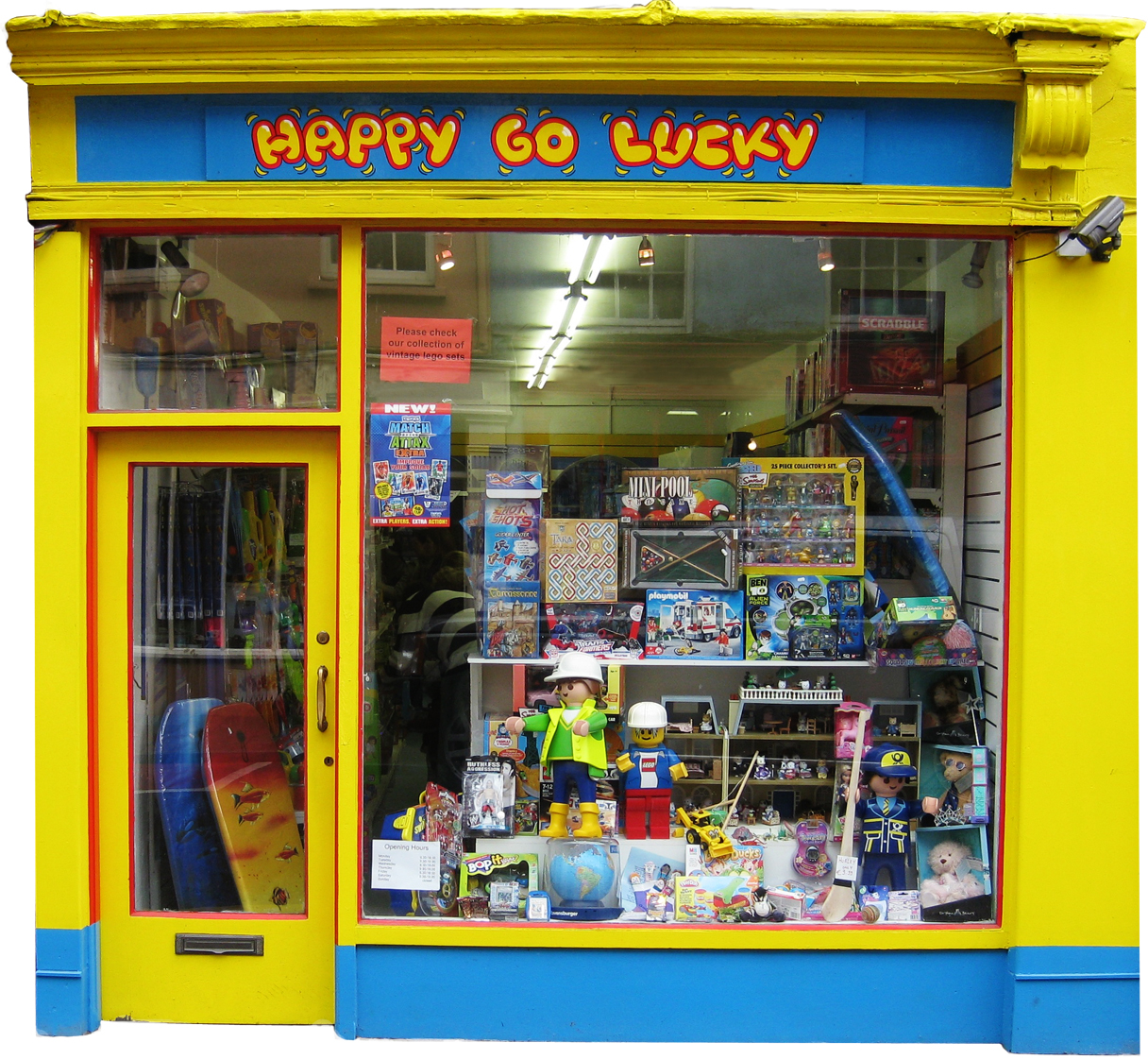 Happy Go Lucky Shopfront